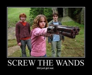 funny-Angry-Hermione-gun-wand